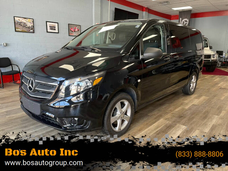 2018 Mercedes-Benz Metris for sale at Bos Auto Inc in Quincy MA