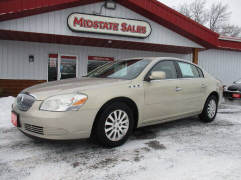 2008 Buick Lucerne for sale at Midstate Sales in Foley MN