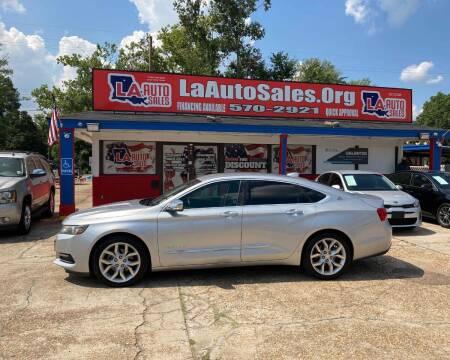 2015 Chevrolet Impala for sale at LA Auto Sales in Monroe LA