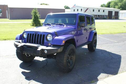 2013 Jeep Wrangler Unlimited for sale at MARK CRIST MOTORSPORTS in Angola IN