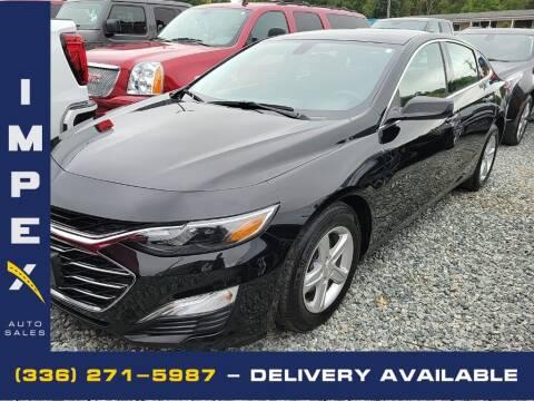 2019 Chevrolet Malibu for sale at Impex Auto Sales in Greensboro NC