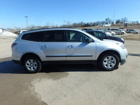 2017 Chevrolet Traverse for sale at BLACKWELL MOTORS INC in Farmington MO