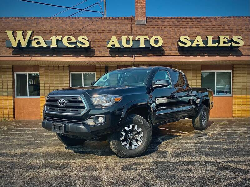 2017 Toyota Tacoma for sale at Wares Auto Sales INC in Traverse City MI