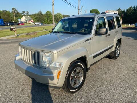 2008 Jeep Liberty for sale at CVC AUTO SALES in Durham NC