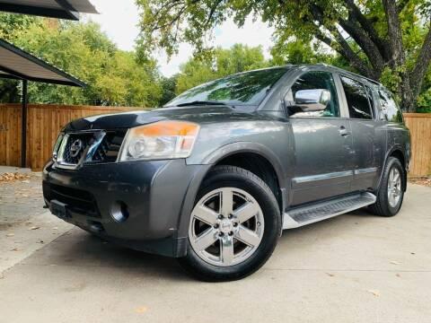 2012 Nissan Armada for sale at DFW Auto Provider in Haltom City TX