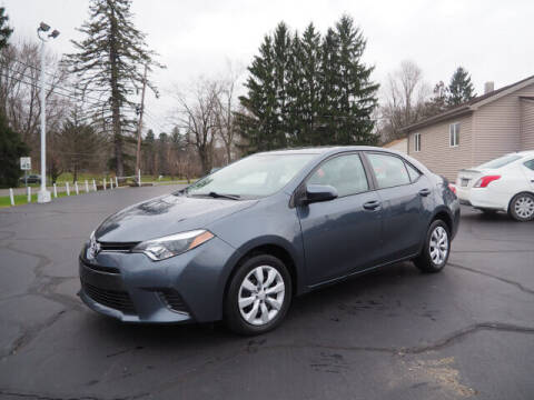 2016 Toyota Corolla for sale at Patriot Motors in Cortland OH