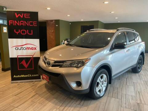 2015 Toyota RAV4 for sale at AutoMax in West Hartford CT