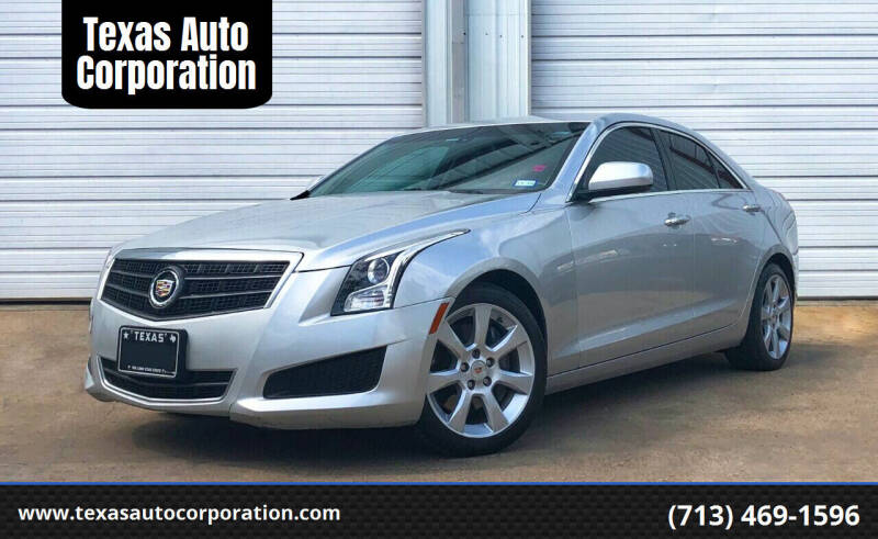 2014 Cadillac ATS for sale at Texas Auto Corporation in Houston TX