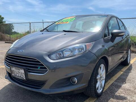 2016 Ford Fiesta for sale at Speedy Auto Sales in Pasadena TX