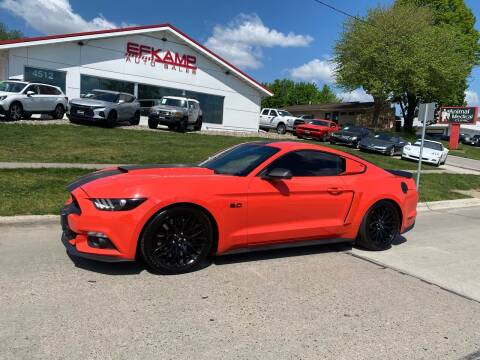 2015 Ford Mustang for sale at Efkamp Auto Sales LLC in Des Moines IA