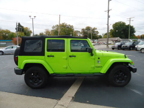 2013 Jeep Wrangler Unlimited for sale at Tom Cater Auto Sales in Toledo OH