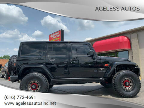 2016 Jeep Wrangler Unlimited for sale at Ageless Autos in Zeeland MI