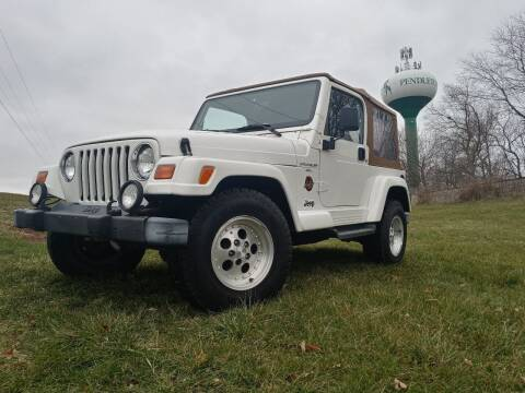 1998 Jeep Wrangler for sale at Sinclair Auto Inc. in Pendleton IN