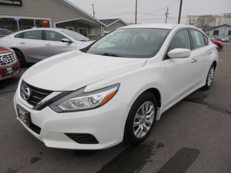 2016 Nissan Altima for sale at Dam Auto Sales in Sioux City IA