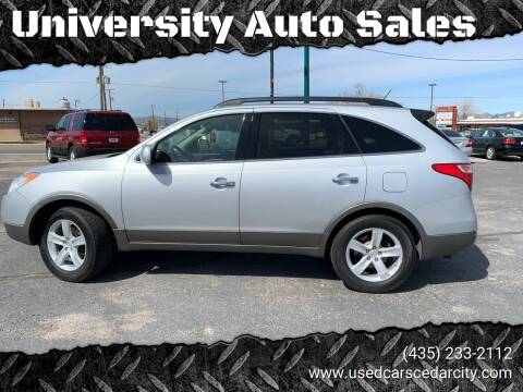 2008 Hyundai Veracruz for sale at University Auto Sales in Cedar City UT