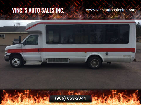 2013 Ford E-Series Chassis for sale at Vinci's Auto Sales Inc. in Bessemer MI