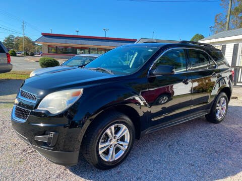 2013 Chevrolet Equinox for sale at Robert Sutton Motors in Goldsboro NC