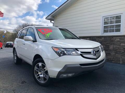 2008 Acura MDX for sale at No Full Coverage Auto Sales in Austell GA