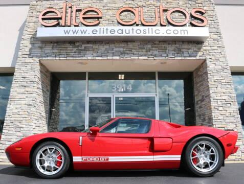 2005 Ford GT for sale at Elite Autos LLC in Jonesboro AR