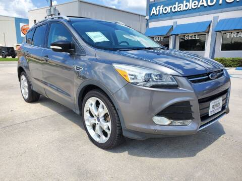 2013 Ford Escape for sale at Affordable Autos in Houma LA