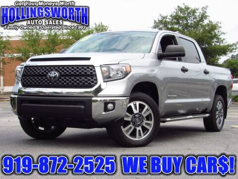 2019 Toyota Tundra for sale at Hollingsworth Auto Sales in Raleigh NC