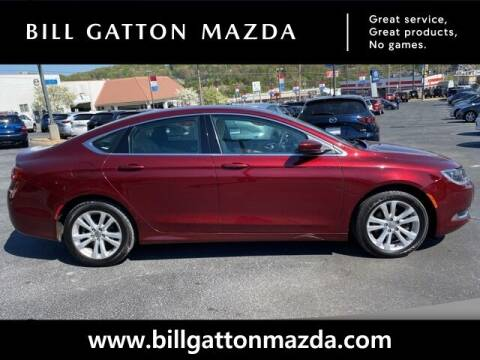 2016 Chrysler 200 for sale at Bill Gatton Used Cars - BILL GATTON ACURA MAZDA in Johnson City TN