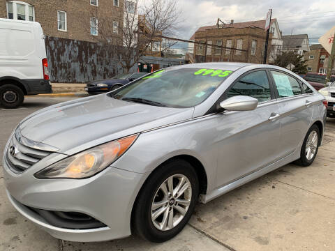 2014 Hyundai Sonata for sale at Barnes Auto Group in Chicago IL
