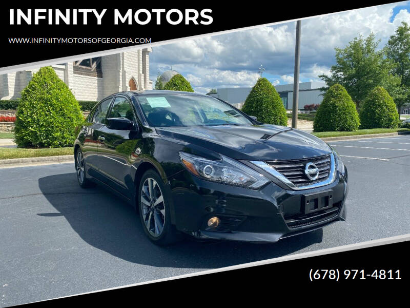 2016 Nissan Altima for sale at INFINITY MOTORS in Gainesville GA