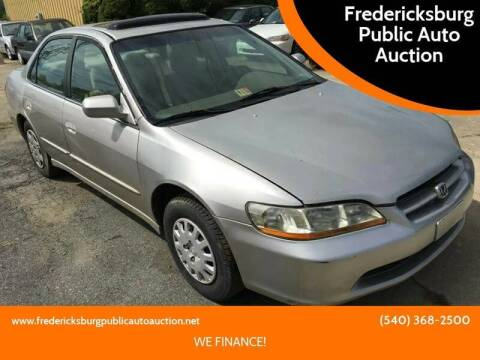 1998 Honda Accord for sale at FPAA in Fredericksburg VA