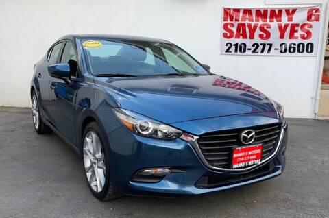 2018 Mazda MAZDA3 for sale at Manny G Motors in San Antonio TX