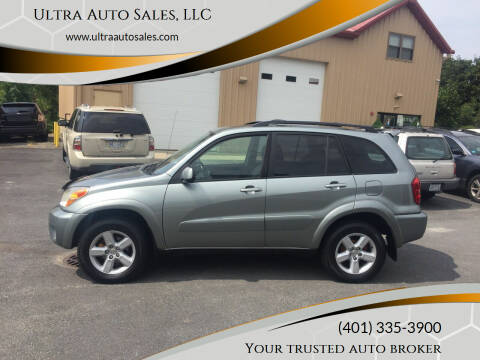 2005 Toyota RAV4 for sale at Ultra Auto Sales, LLC in Cumberland RI