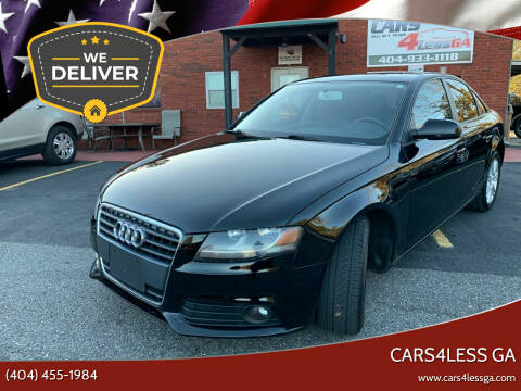 2011 Audi A4 for sale at Cars4Less GA in Alpharetta GA