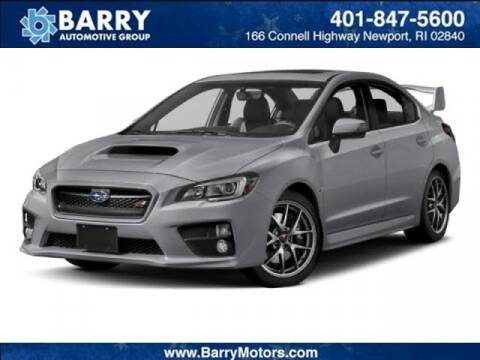 2016 Subaru WRX for sale at BARRYS Auto Group Inc in Newport RI