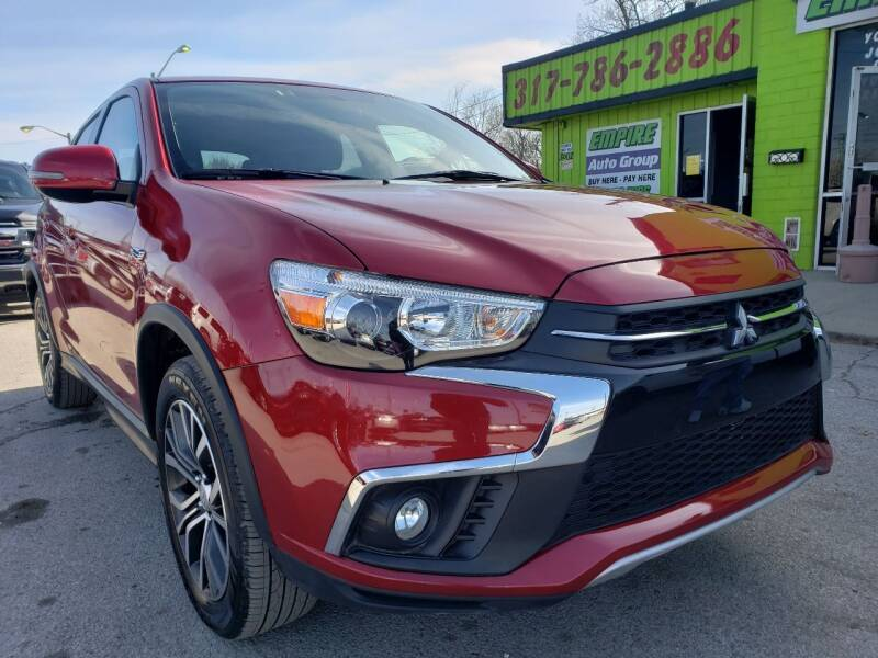 2019 Mitsubishi Outlander Sport for sale at Empire Auto Group in Indianapolis IN