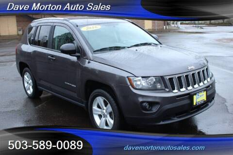 2016 Jeep Compass for sale at Dave Morton Auto Sales in Salem OR