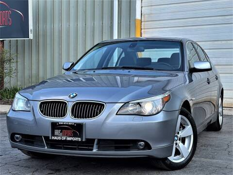 2007 BMW 5 Series for sale at Haus of Imports in Lemont IL