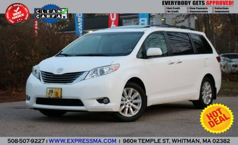 2012 Toyota Sienna for sale at Auto Sales Express in Whitman MA
