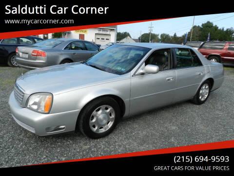 2002 Cadillac DeVille for sale at Saldutti Car Corner in Gilbertsville PA