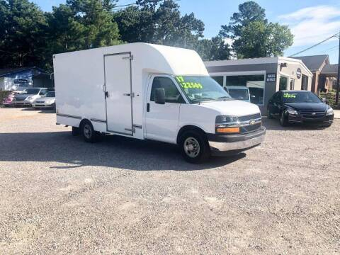 2017 Chevrolet Express Cutaway for sale at Barrett Auto Sales in North Augusta SC