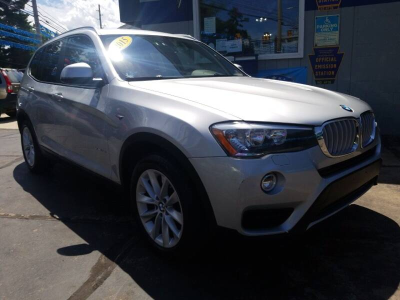 2015 BMW X3 for sale at Fleetwing Auto Sales in Erie PA