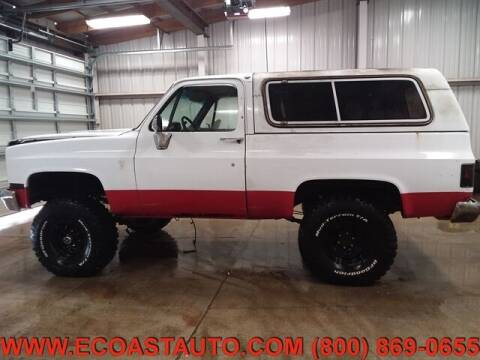 1985 Chevrolet Blazer for sale at East Coast Auto Source Inc. in Bedford VA