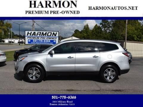 2017 Chevrolet Traverse for sale at Harmon Premium Pre-Owned in Benton AR