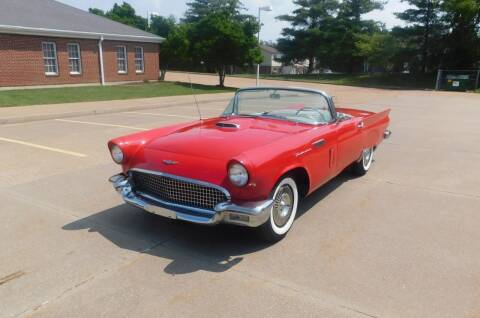 1957 Ford Thunderbird for sale at WEST PORT AUTO CENTER INC in Fenton MO