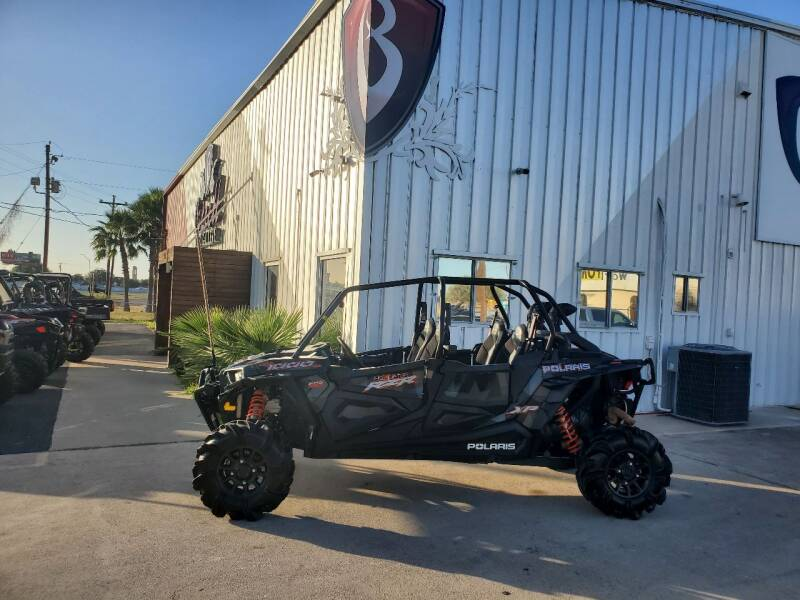 2018 Polaris RZRXP4HIGHLIFTER for sale at Barrett Bikes LLC in San Juan TX