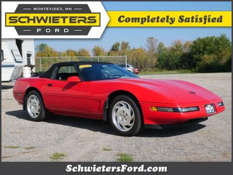 1995 Chevrolet Corvette for sale at Schwieters Ford of Montevideo in Montevideo MN