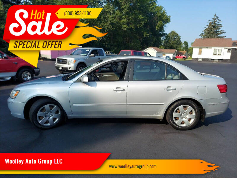 2009 Hyundai Sonata for sale at Woolley Auto Group LLC in Poland OH