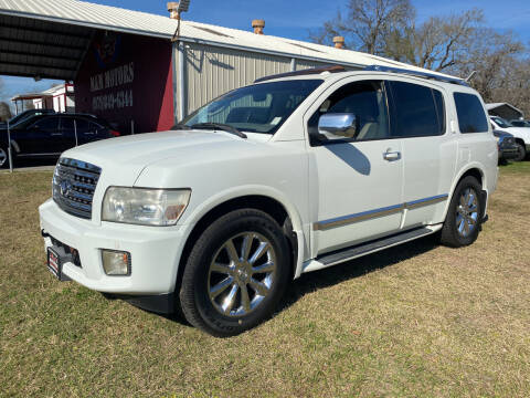 2008 Infiniti QX56 for sale at M & M Motors in Angleton TX