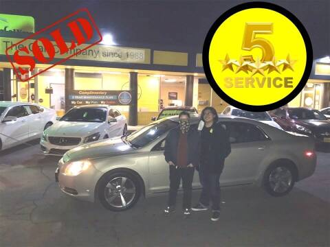 2011 Chevrolet Malibu for sale at The Car Company in Las Vegas NV