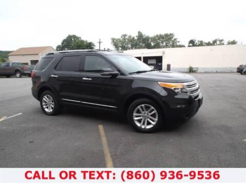 2011 Ford Explorer for sale at Lee Motor Sales Inc. in Hartford CT