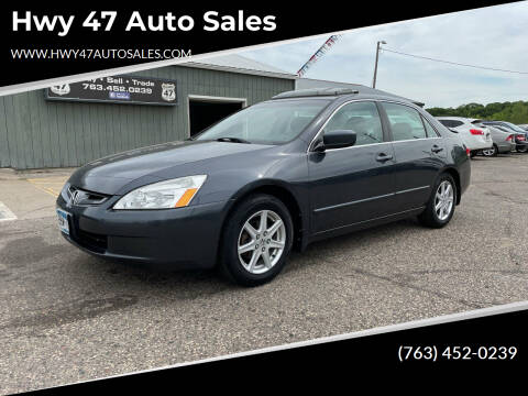 2004 Honda Accord for sale at Hwy 47 Auto Sales in Saint Francis MN